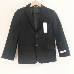 Calvin Klein Boys Black Blazer Size 10